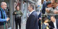 Başkan Usta Sarıgöl Mahalle Sakinlerini Ziyaret Etti