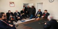 Başkan Usta'dan Karayolları Mahalle Muhtarlığı'na ziyaret