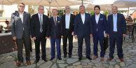 Başkanlar, Eyüp Sultan'da buluştu
