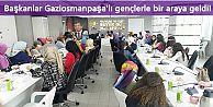Başkanlar Gaziosmanpaşa'lı gençlerle bir araya geldi!