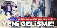 Bayrampaşa'da dehşet görüntüleri! Metro istasyonunda polise saldırı!