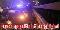 Bayrampaşa'da intihar girişimi