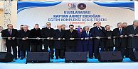 Bayrampaşa'ya dev eğitim kompleksi Cumhurbaşkanın Katılımıyla Açıldı!