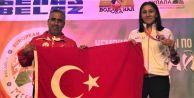 Gaziosmnapaşa'lı Bediha Taçyıldız 3'üncü Kez Avrupa Şampiyonu Oldu