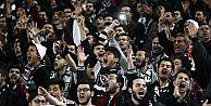 Beşiktaş taraftarı 120 dakika boyunca hiç susmadı