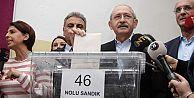 CHP, milletvekili adaylarını belirlemek için sandık başına gitti