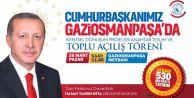 Cumhurbaşkanı Erdoğan Gaziosmanpaşa'da!