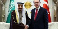 Cumhurbaşkanı Erdoğan ile Suudi Arabistan...