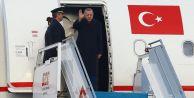 Cumhurbaşkanı Erdoğan Katar'a gitti