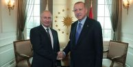 Cumhurbaşkanı Erdoğan Putin ile telefonda...