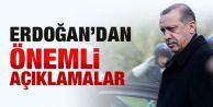 Cumhurbaşkanı Erdoğan'dan Önemli Açıklamalar: