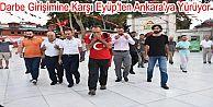 Darbe Girişimine Karşı İstanbul'dan Ankara'ya Yürüyor