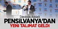 Davutoğlu Gümüşhane'de Konuşuyor