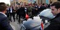 Davutoğlu'nu Irak'ta Bakın Kimler Korudu!