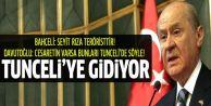Devlet Bahçeli Tunceli'ye gidecek