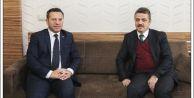 Diyarbakır Valisi Aksoy'dan Başkan Usta'ya ziyaret