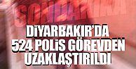Diyarbakır'da 524 polis görevden uzaklaştırıldı