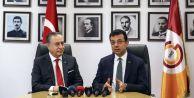 Ekrem İmamoğlu'ndan Galatasaray Başkanı Cengiz'e ziyaret