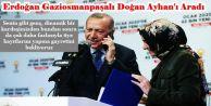 Erdoğan AK Partiye yeni üye olan Gaziosmanpaşalı Doğan Ayhan'ı telefonla aradı!