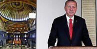 Erdoğan: Ayasofya 24 Temmuzda ibadete...