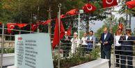 Erdoğan, Halisdemir'in kabrini ziyaret etti