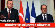 Erdoğan: Türkiye'ye müjdeyle döneyim