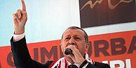 Erdoğan'dan Demirtaş'a: İstanbul'da sazın bölgede silahın arkasında duruyorsun