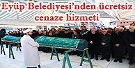 Eyüp Belediyesi'nden ücretsiz cenaze hizmeti