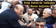 Eyüp Sultan'da Erdoğan krizi