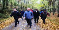 Eyüp'lüler Kurtkemeri'nde Doğa Yürüyüşü ve Spor Yaptı