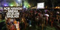 Eyüpsultan'da açık hava sinema geceleri başladı