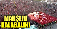 Fetih Şöleni'nde mahşeri kalabalık