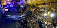 Fırtına İstanbul'da tarfik kazalarına neden oldu