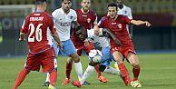 Fırtına'ya Balkan havası yaramadı! Rabotnicki - Trabzonspor: 1-0