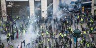 Fransa'da 'sarı yelekliler'e biber gazıyla...