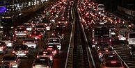 FSM Köprüsü'ndeki trafik sürücüleri bıktırdı