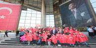 Gaziosmanpaşa Belediyesi, Türk ve Suriyeli Çocukları Anıtkabir'e Götürdü