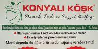 """Gaziosmanpaşa """"Konyalı Köşkte"""" eşsiz Ramazan lezzetleri"""