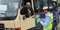 Gaziosmanpaşa Zabıta Ekipleri Ulaşımda Konfor İçin Minibüsleri Denetledi