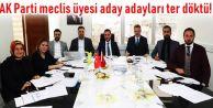 Gaziosmanpaşa'da 170 meclis üyesi aday adayları mülakattan geçti