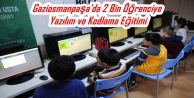 Gaziosmanpaşa'da 2 Bin Öğrenciye Yazılım ve Kodlama Eğitimi