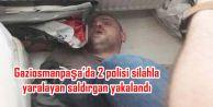 Gaziosmanpaşa'da 2 polisi silahla yaralayan saldırgan Kocaeli'nde yakalandı
