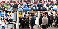 Gaziosmanpaşa'da bayram öncesi çarşı pazar hareketliliği