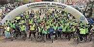 Gaziosmanpaşa'da Bisiklet Şenliği Renkli Görüntülere Sahne Oldu