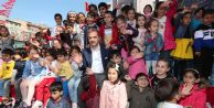 Gaziosmanpaşa'da Çocuklar Gönüllerince Eğlendi