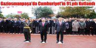 Gaziosmanpaşa'da Cumhuriyet'in 91.yılı Kutlandı