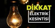 Gaziosmanpaşa'da elektrik kesintisi ne zaman!