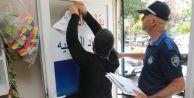 Gaziosmanpaşa'da İş Yerlerine Yabancı Tabela Denetimi