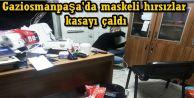 Gaziosmanpaşa'da maskeli hırsızlar kasayı çaldı
