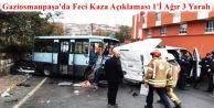 Gaziosmanpaşa'da minibüs devrildi: 1'i ağır, 3 yaralı